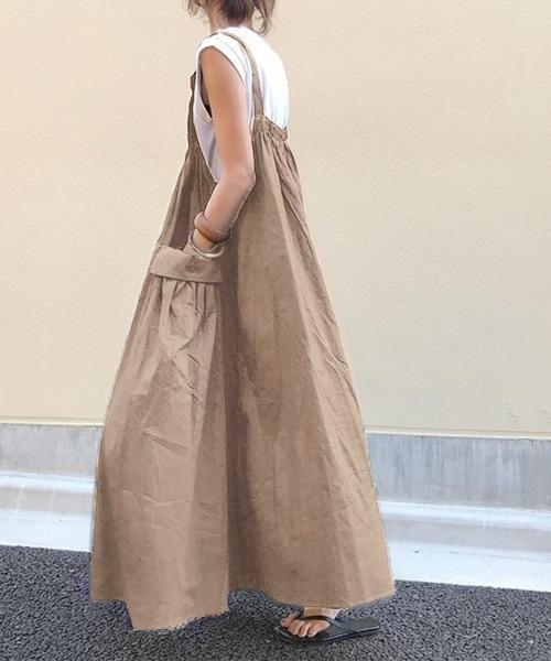 【ABITOKYO】サマーサスペンダースカートサロペット