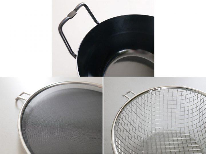 鉄揚げ鍋セット5