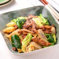 大豆肉のヘルシー回鍋肉