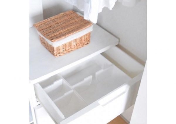 ニトリのケースできれいに収納するアイデア