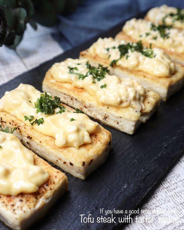 ソースが絶品!洋風豆腐ステーキレシピ