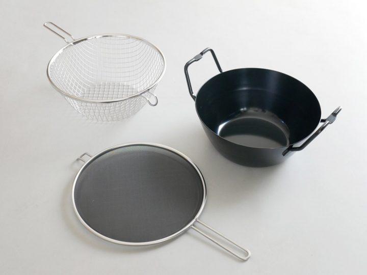 鉄揚げ鍋セット6