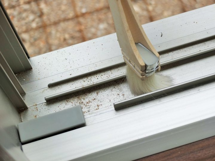窓ガラスの掃除方法7