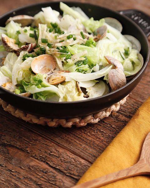 簡単美味しい♡白菜とあさりの酒蒸しレシピ