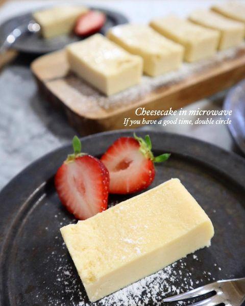 クリームチーズの消費レシピ!チーズケーキ
