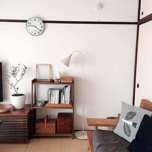 和室×観葉植物のインテリア実例7