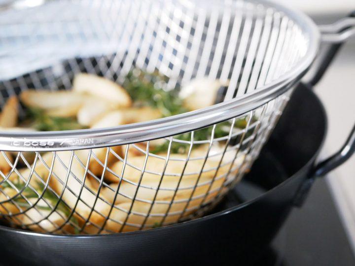 鉄揚げ鍋セット8