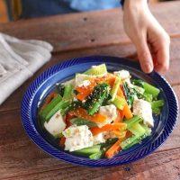 木綿豆腐で作る副菜の簡単レシピまとめ!もう一品欲しい時に手軽に作れる絶品料理