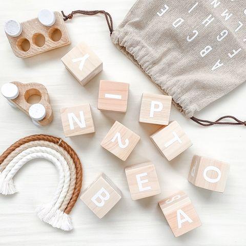 幼児の積み木遊びに◎可愛い手作りブロック