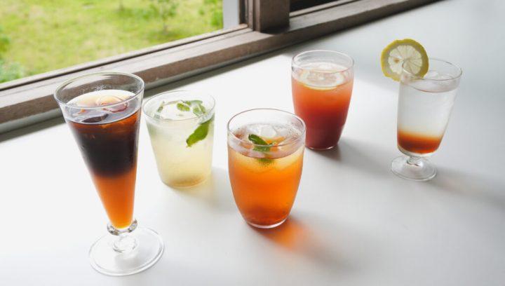 ひんやりドリンクのアレンジレシピ8