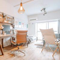 DIYで暮らしにフィットする家具をつくる。一人暮らしのワンルームインテリア