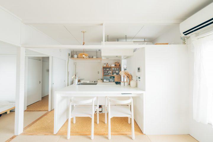 二人暮らしの狭い部屋のレイアウト7
