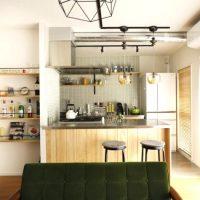 リノベならではのセパレートキッチン実例♪おしゃれで便利な二列キッチンのつくり方