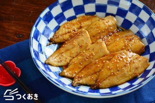 甘辛味で満足度アップ♪アジの蒲焼き風レシピ