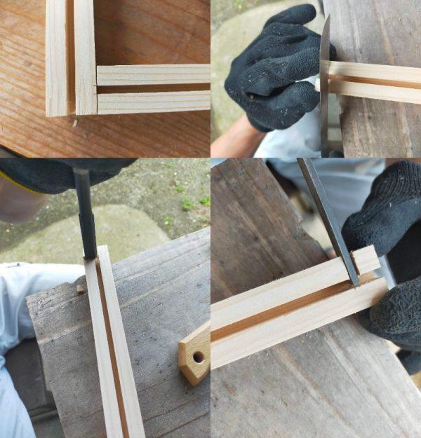 木枠を組む