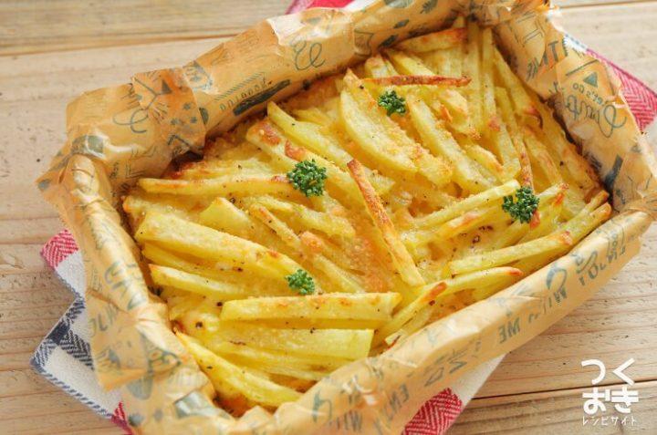 食感◎ツナポテチーズのオーブン焼きレシピ