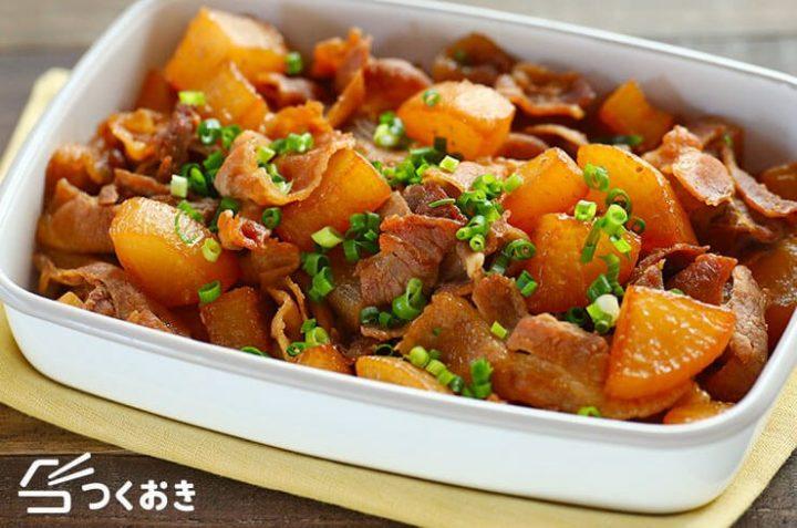 定番人気の作り置き料理!豚バラ大根レシピ
