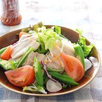 さっぱり美味しい!夏に食べたいボリュームたっぷり冷しゃぶサラダ