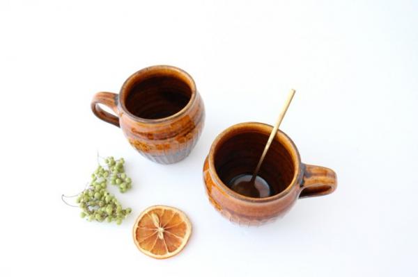 信楽焼のマグ&スープカップ6