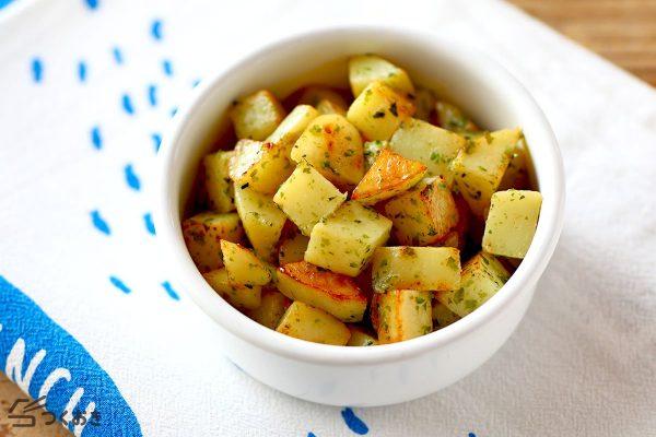 人気の副菜レシピ!のり塩バターポテト