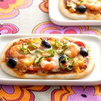 【オーブントースターのレシピ】簡単スクエア米粉ピザ