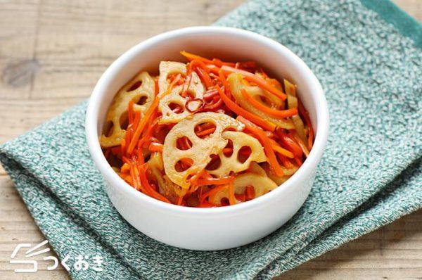 定番人気の副菜。きんぴられんこんレシピ