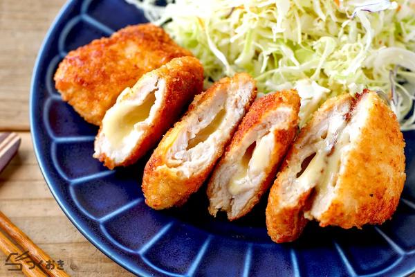 人気の洋風揚げ物♪ささみチーズカツレシピ