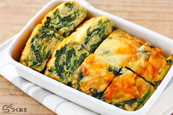 簡単!ほうれん草と玉ねぎのオムレツレシピ