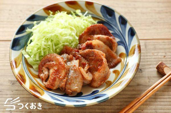 酸っぱ美味しい主菜!豚肉の梅生姜焼きレシピ