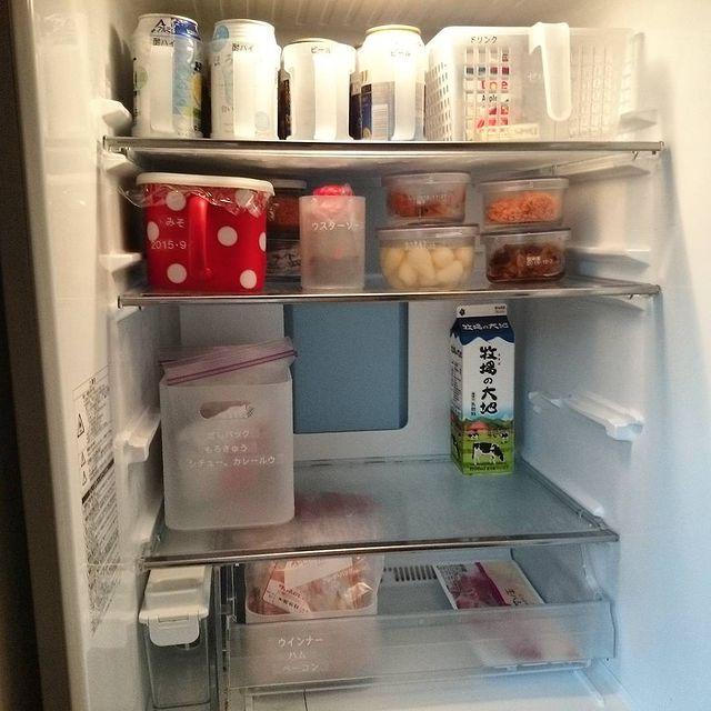 冷蔵庫収納 無印1