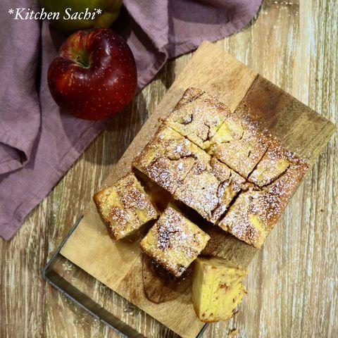 簡単お菓子♪りんごのヨーグルトケーキレシピ