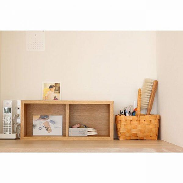 「壁に付けられる家具 箱」を使ったインテリア実例5