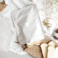 美味しさにこだわる「パン冷凍保存袋」。パンの美味しさをキープ!