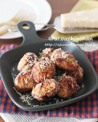 粉チーズが香る人気料理♡里芋唐揚げレシピ