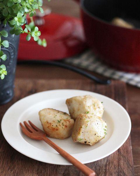 人気の味!里芋のガーリック醤油焼きレシピ