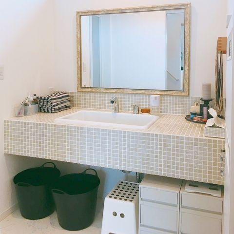 無印の洗面台下収納11