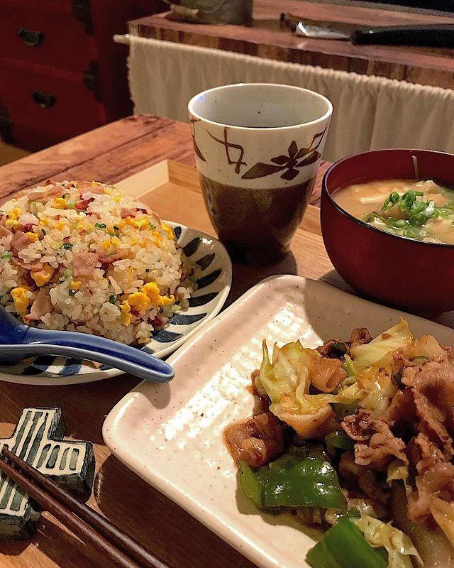 チャーハン&回鍋肉