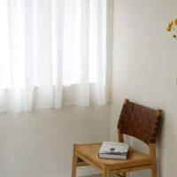 やわらかで上質なリネン100%の「カーテン」。シンプルで優しい素材感!