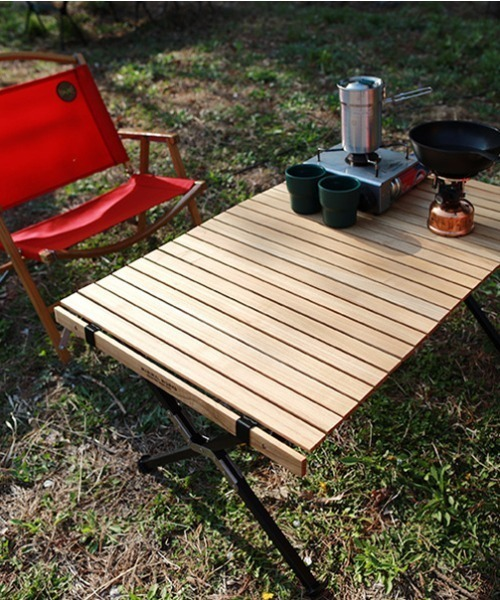 [UNBY GENERAL GOODS STORE] MINIMALWORKS/ミニマルワークス MOCHA ROLL TABLE PAMPAS