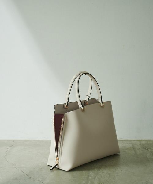 [ROPE'] 【新色追加】【E'POR】Y bag Medium (サイドジップトートバッグ)