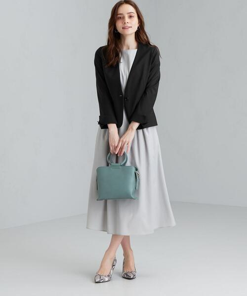 [green label relaxing] 【WORK TRIP OUTFITS】★WTO D TWPUトロ ノーラペル / ノーカラー