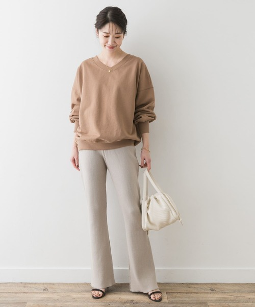 [URBAN RESEARCH ROSSO WOMEN] F by ROSSO リブニットパンツ