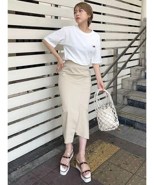 【MURUA】アシンメトリーマーメイドスカート