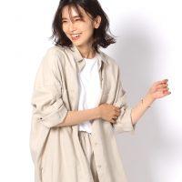 リネンシャツの大人おしゃれな秋コーデ《2021》素材感が魅力的な着こなし術
