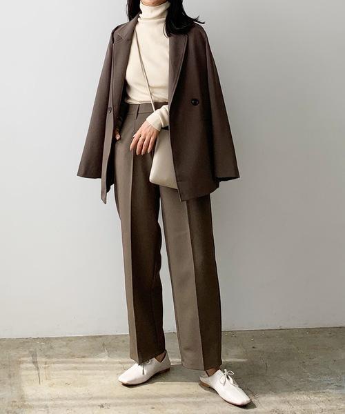 Lian] テーラードジャケット&トラウザーパンツ セットアップ