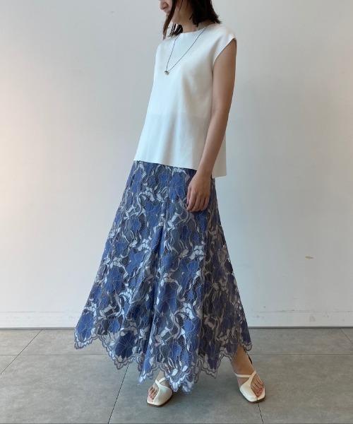 [Apuweiser-riche] ナローレーススカート