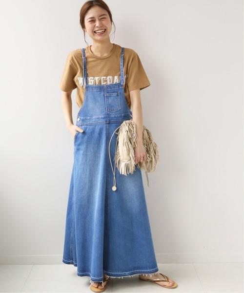 Aラインのきれいめジャンパースカート