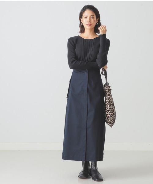 [BEAMS WOMEN] BEAMS LIGHTS / チノ ポケット ミドル スカート6