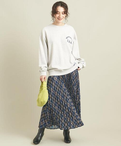[BEAUTY&YOUTH UNITED ARROWS] 【WEB限定】by ※チェックプリーツスカート -ウォッシャブル- ∴17