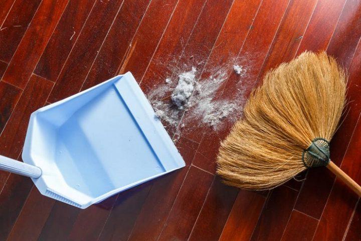 ほこりの掃除方法